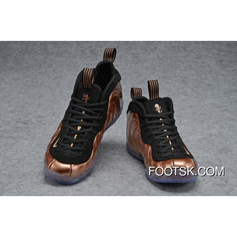 huge discount 74ad2 279a8 Nike Air Foamposite One Copper Black/Metallic Copper New Release ScRYH