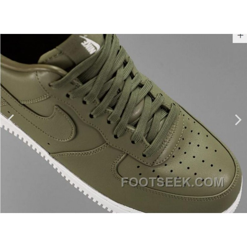 promo code 88826 b7643 NIKE LAB AIR FORCE 1 LOW 36-45 Limited Edition Olive Green Sneaker For Fall