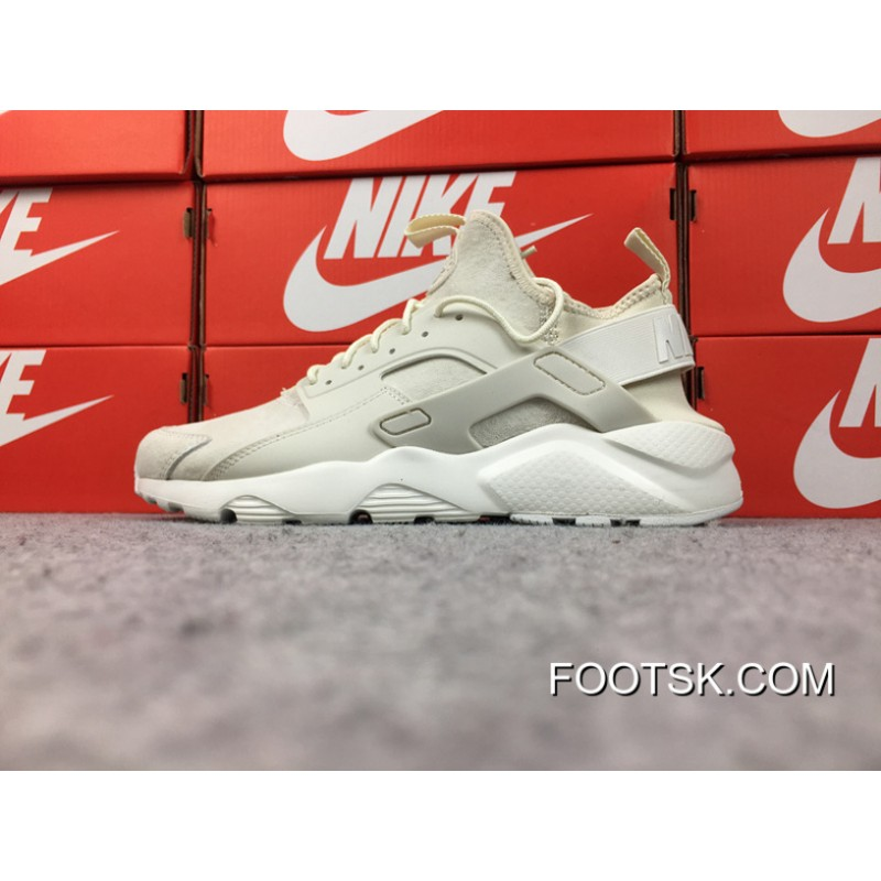 Mata agenda puesto  Nike Air Huarache Four 4 Generation Texture Pig Leather Series Ultra Id  Custom-Made Cream-Colored 829669-665 Top Deals , Discount AUTHENTIC Shoes -  FootSk.com