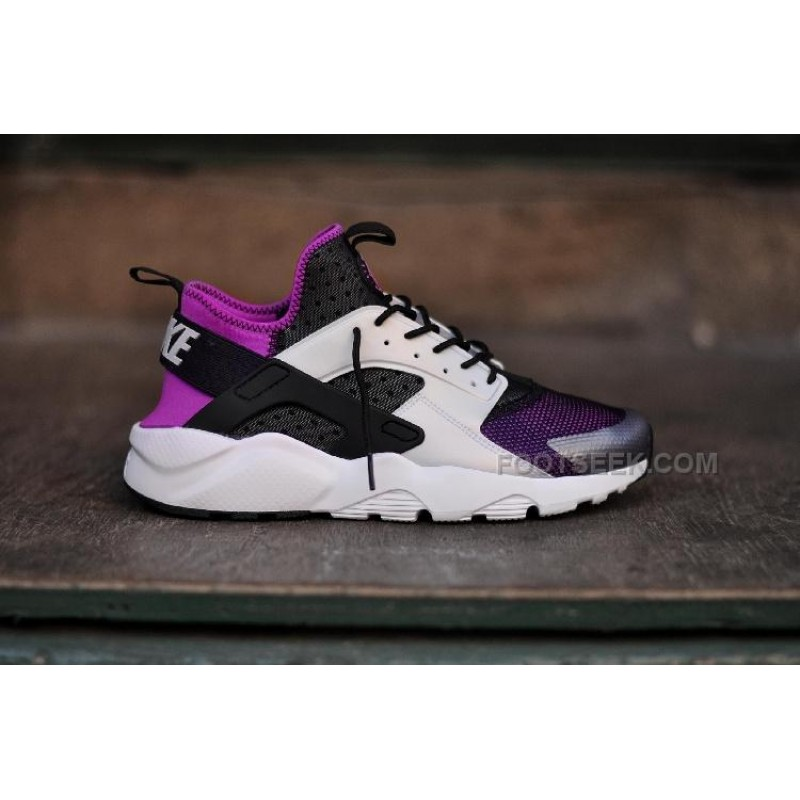 NIKE AIR HUARACHE women BLACK PURPLE 819685,005