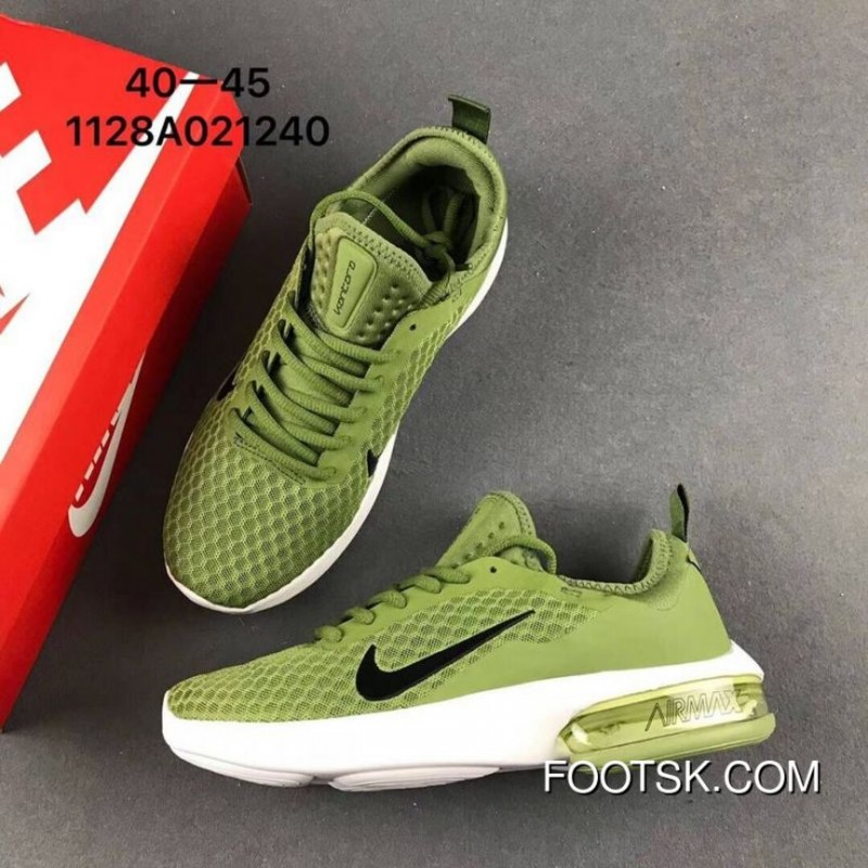 new product e3d36 a67ca NIKE AIR MAX 2018 Military Green Discount
