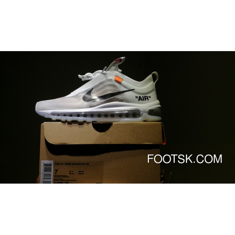hot sale online 0a371 ceb94 Nike Air Max 97 OG AJ4585 100 Off White The 10 Max97 New Release ...