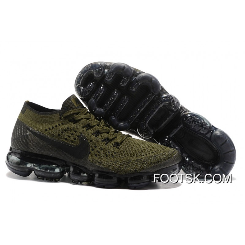 low priced 48baf 7b51e Nike Air VaporMax Flyknit 2018 2018 Olive Green Copuon Code