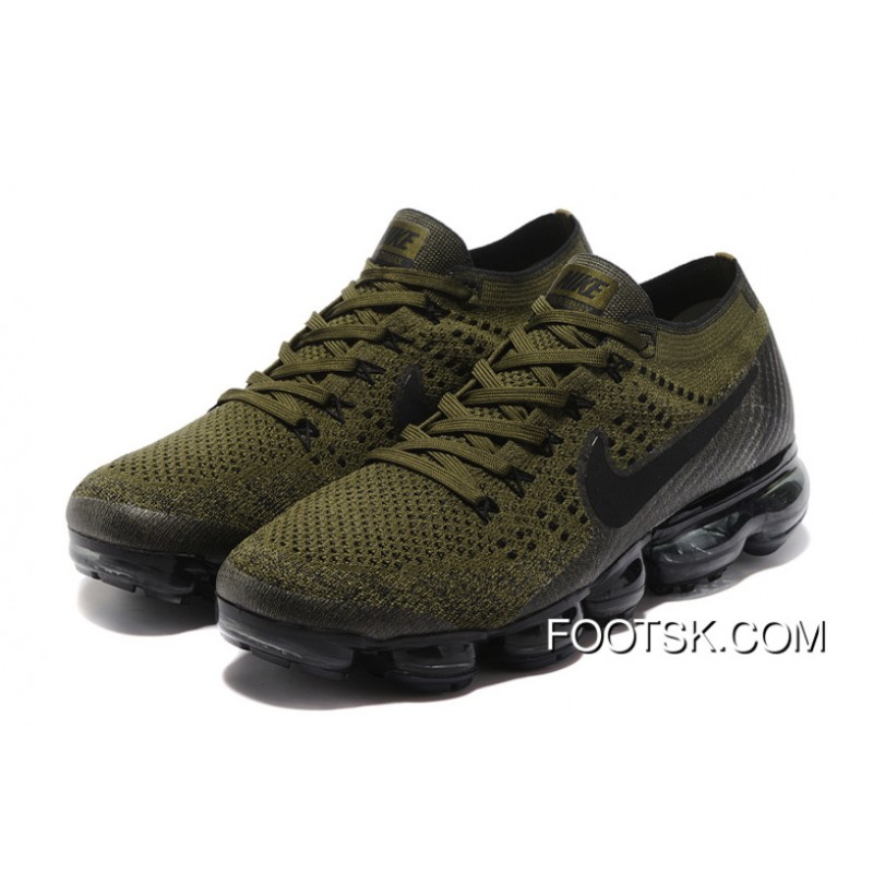 low priced cbaec cb6f4 Nike Air VaporMax Flyknit 2018 2018 Olive Green Copuon Code