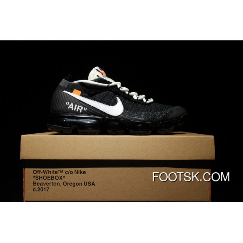 best loved 14874 078e0 Nike Air VaporMax Flyknit X Off White AA3831-001 2018 THE TEN VaporMax New  Release