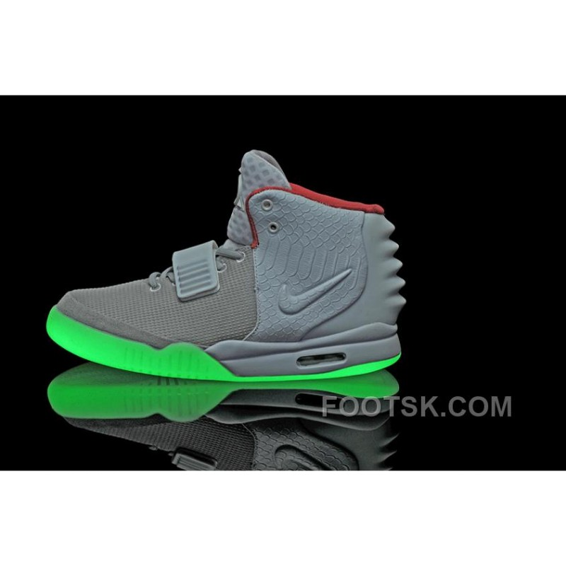 f4e9c6a41d3a01 ... For Sale Nike Air Yeezy 2 Wolf Grey Pure Platinum Glow In The Dark ...