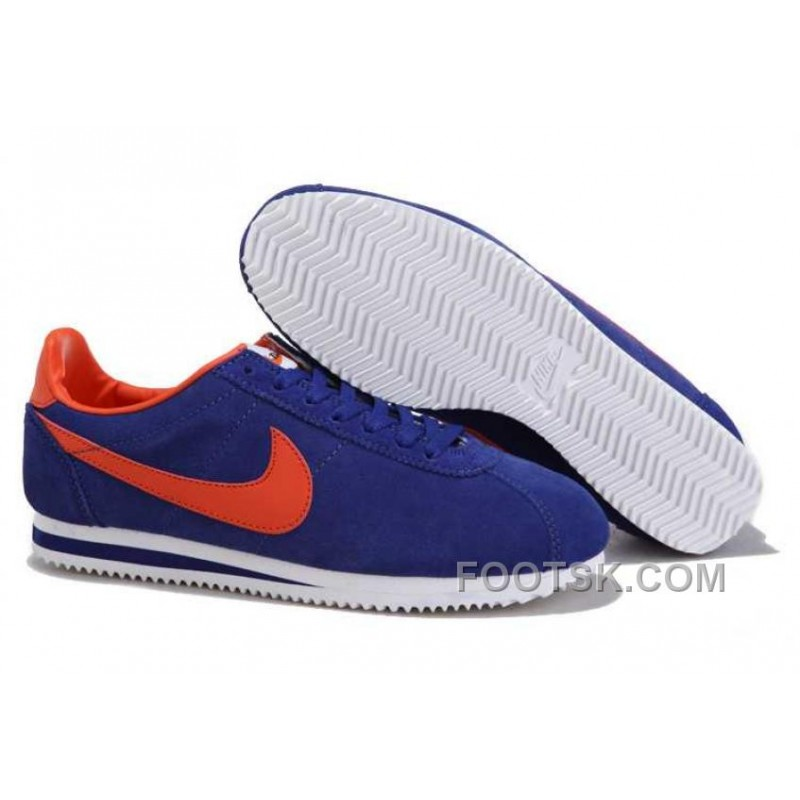 half off 7d24f 7d550 Cheap To Buy Nike Cortez Anti-Fur Men Shoes Royal Blue Red, Price   74.00 -  Discount AUTHENTIC Shoes - FootSk.com