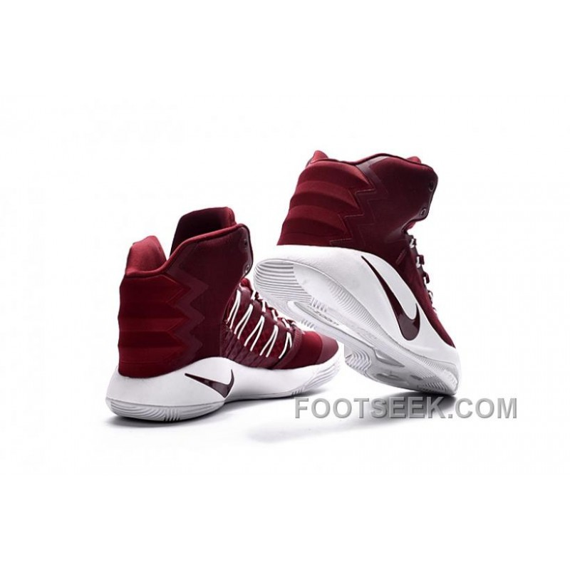low priced d150a fc19a Nike Hyperdunk 2016 Maroon White Online