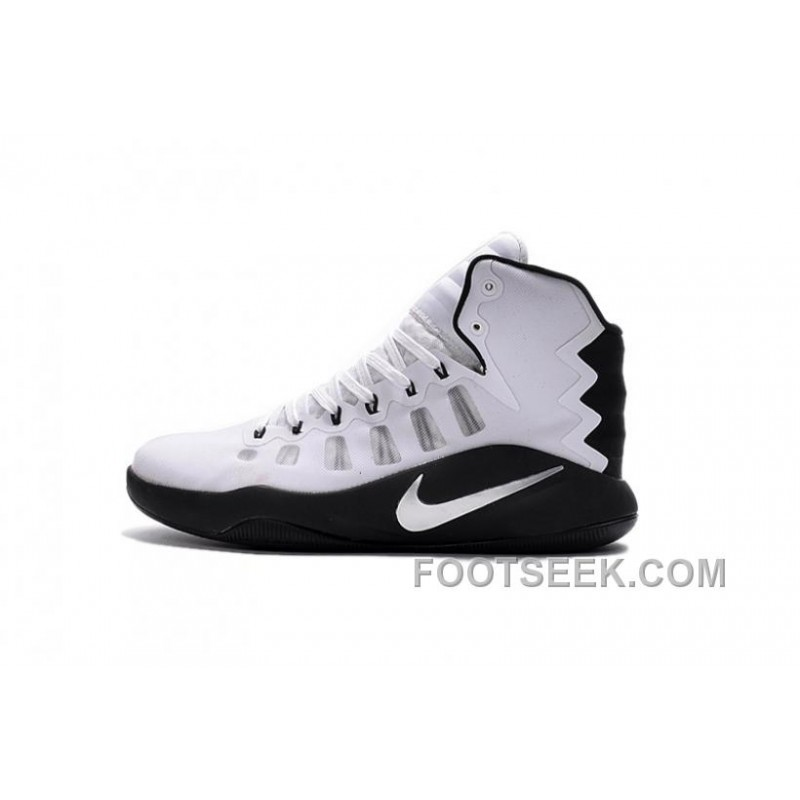 e28873b4a616 Nike Hyperdunk 2016 Black Grey White New Release
