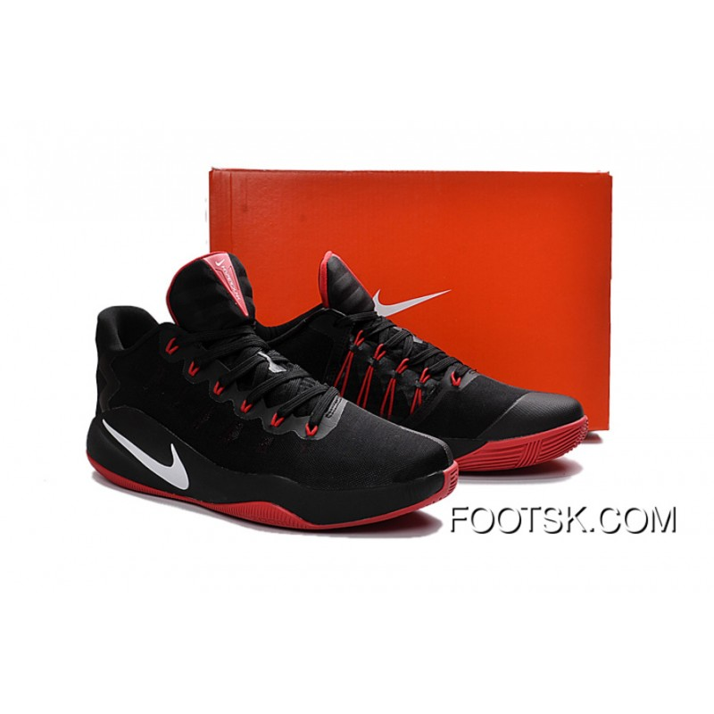 various colors 2c9a9 7eea1 Nike Hyperdunk 2016 Low Black Red White Men s Basketball Shoes Best PFcBSN