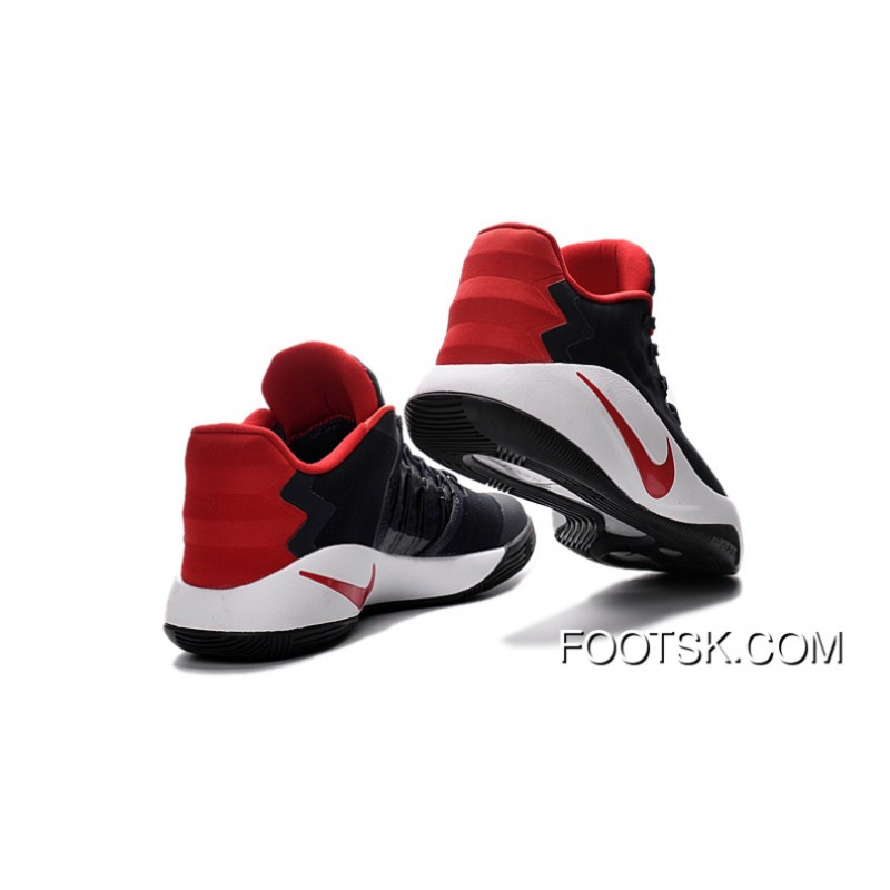 4291ea117bed ... coupon code for nike hyperdunk 2016 low usa black red white mens  basketball shoes online mrnrzta