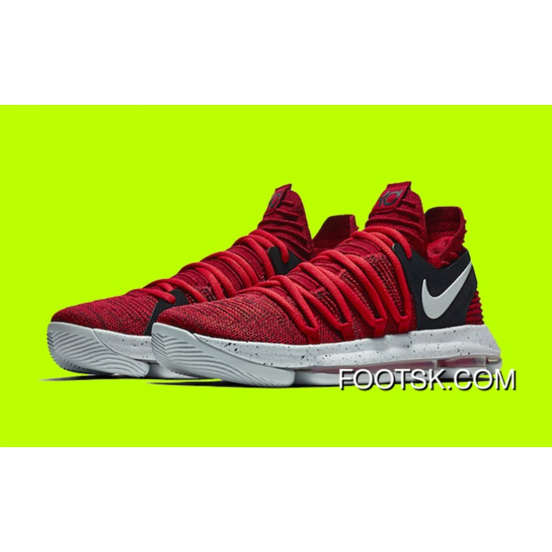 sale retailer c4f1d 7ca30 ... New Nike KD 10 University Red Black For Sale YSc43EB ...
