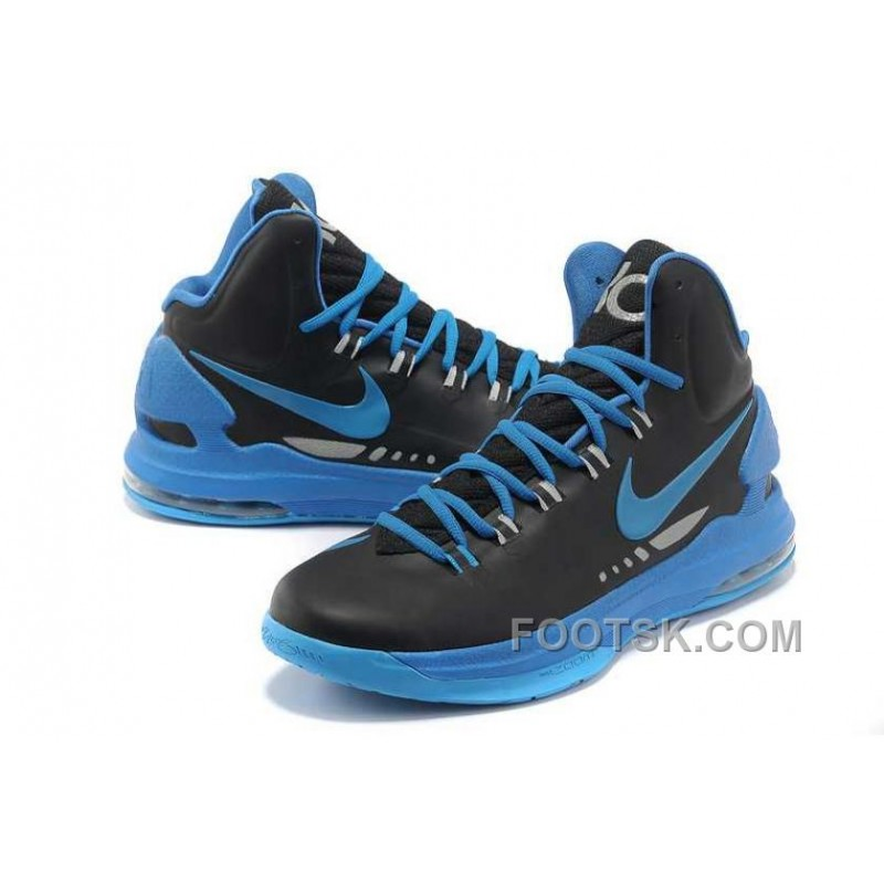 Nike Zoom KD V Mens Black Blue Discount Sn6md