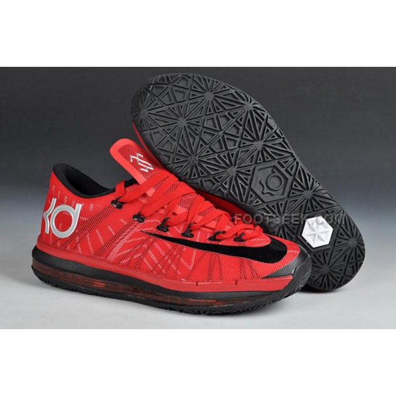 finest selection 9f750 75bbf Nike KD 6 Elite Series Team Red-Black Discount ...