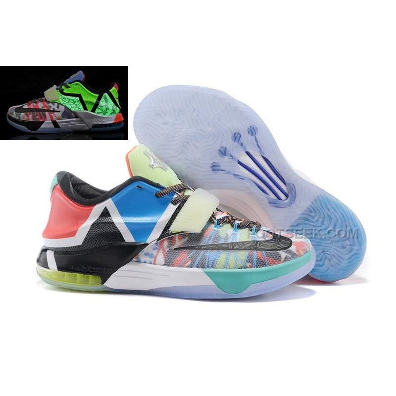 Cheap Nike KD7 What The KD 7 Glow In The Dark For Sale Discount Online ...