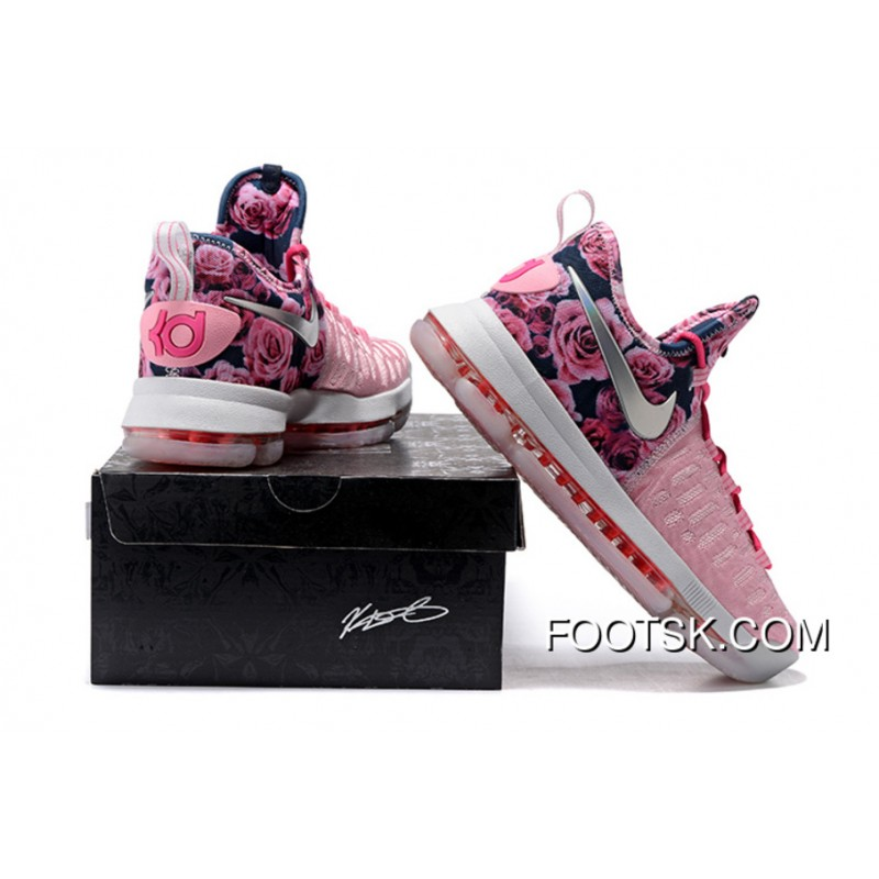 aacdf417b8370 switzerland 139.99 kd 9 aunt pearl youth 2257d c351b  switzerland 2016 nike  kd 9 flower pink mens basketball shoes best tkgk7eb c77e1 6059a