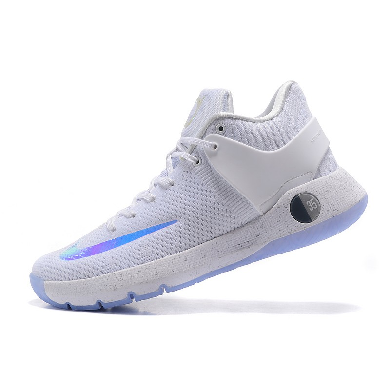Nike KD Trey 5 Knit White Baby Blue Lastest