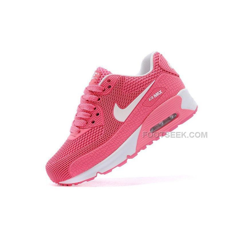 d384748851 Nike Air Max 90 Kids Shoes Children Sneakers Pink White, Price ...