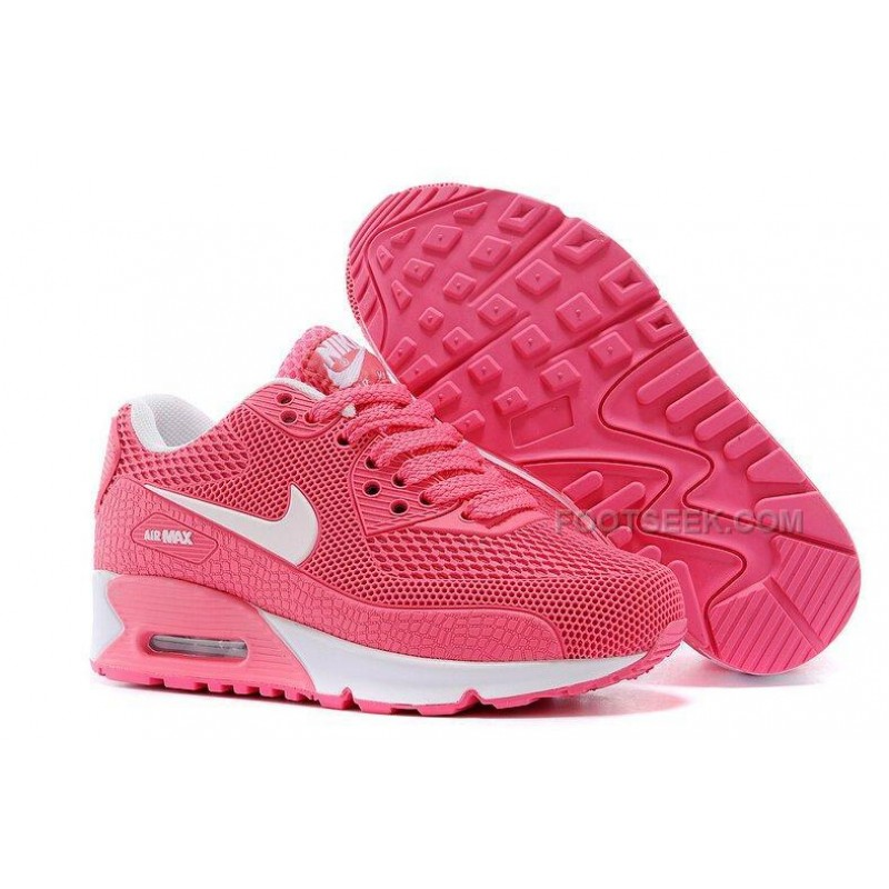 finest selection 7fcc6 290d3 Nike Air Max 90 Kids Shoes Children Sneakers Pink White