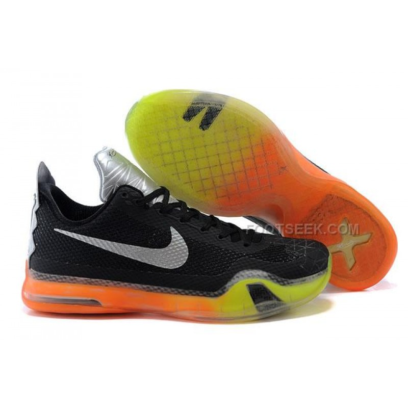 low priced ca210 c03f0 ... Nike Kobe 10 All Star ASG Shoes Black Yellow Orange ...