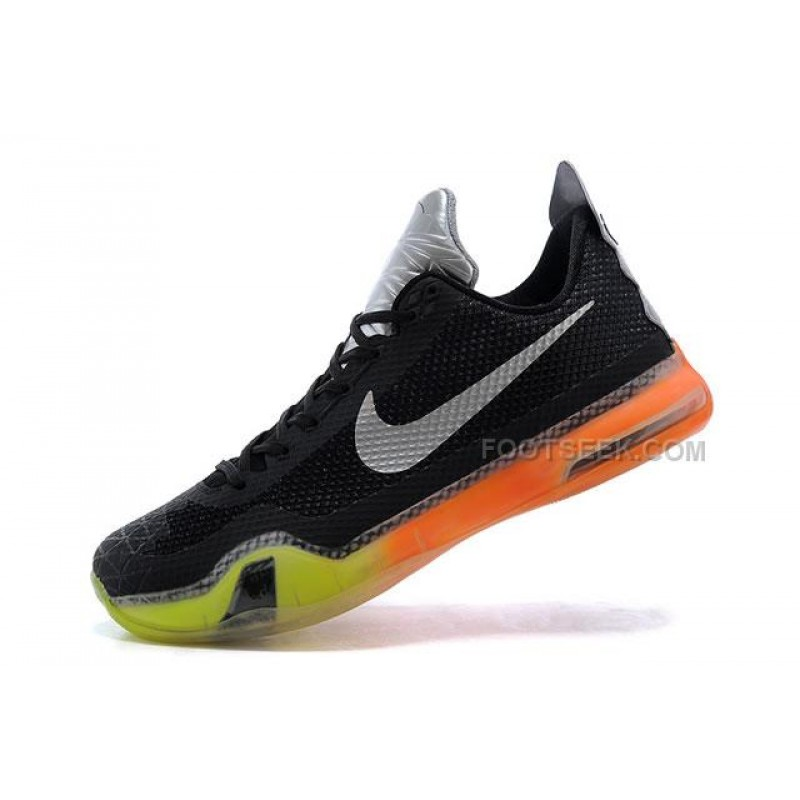 best authentic f8e54 28490 Nike Kobe 10 All Star ASG Shoes Black Yellow Orange ...