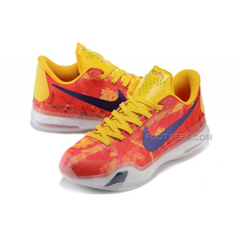 "... Kobe 10 iD ""Sgt. Mamba"" Yellow/Multi-Color For Sale ..."