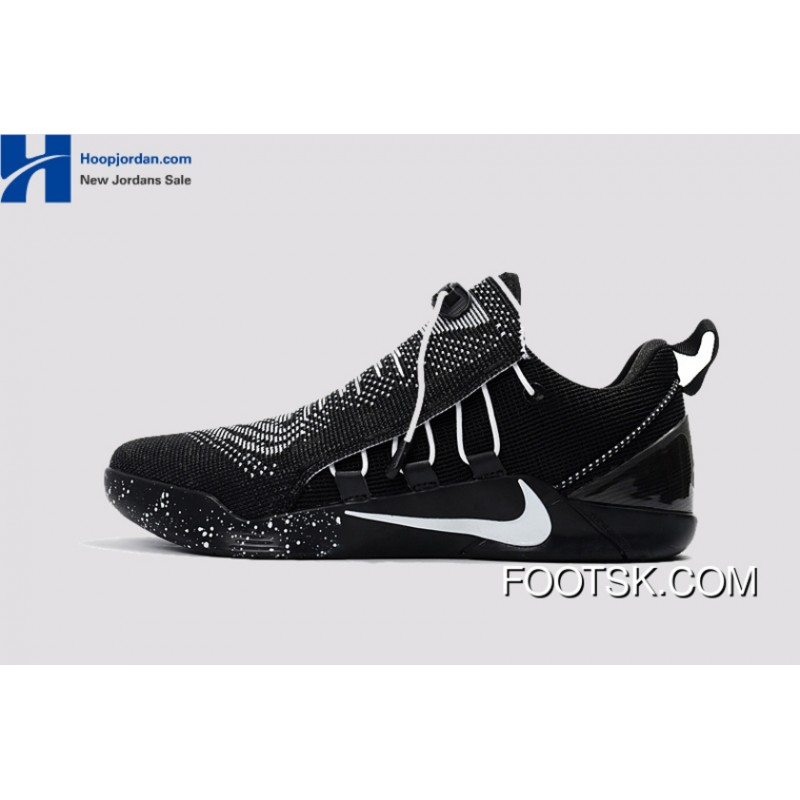 9f58e37b042d Nike Kobe A.D. NXT Black White Men s Basketball Shoes Free Shipping REBsdY  ...