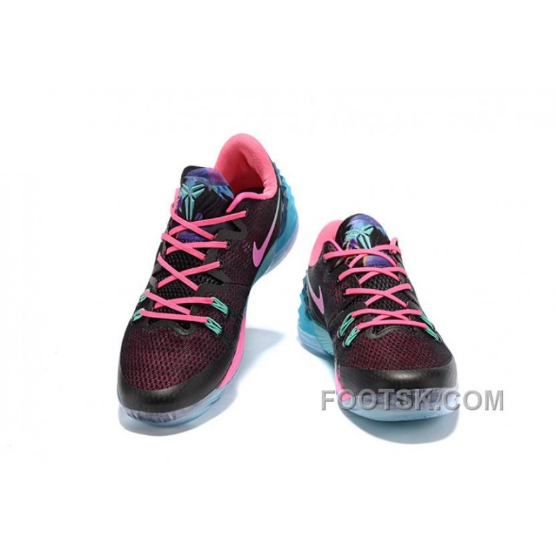 online retailer 5ddb0 9424e NIKE KOBE VENOMENON 5 South Beach Blue Black Pink Authentic