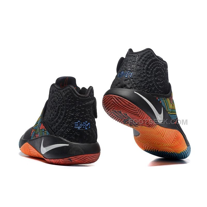 f509001380ca ... czech nike kyrie 2 ii bhm black red orange blue kyrie sneakers 97a4b  adaa1