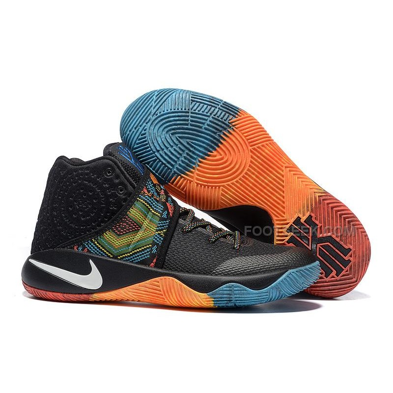 sale retailer 10e65 69a85 ... czech nike kyrie 2 ii bhm black red orange blue kyrie sneakers de23e  642ac