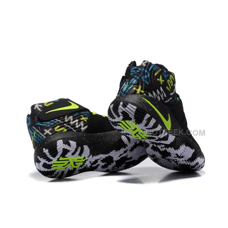 new styles cfd4a f9bcc Nike Kyrie Sale Nike Kyrie 2 Black White Volt