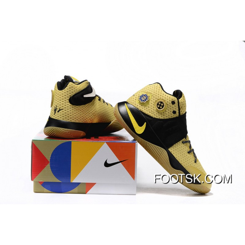 low priced 5ab7e 427a0 'All-Star' Nike Kyrie 2 Celery/Varsity Maize-Black Authentic PHJH2HC