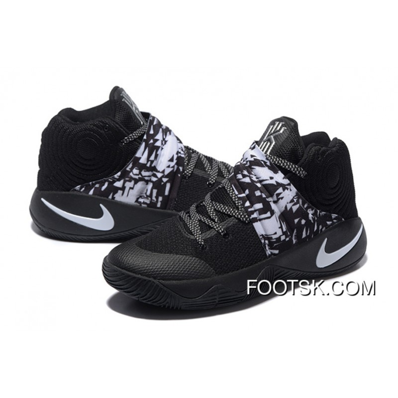 24bf1f634d6a6 ... clearance nike kyrie 2 black white mens basketball shoes authentic  rkpwha8 eb021 aeb64