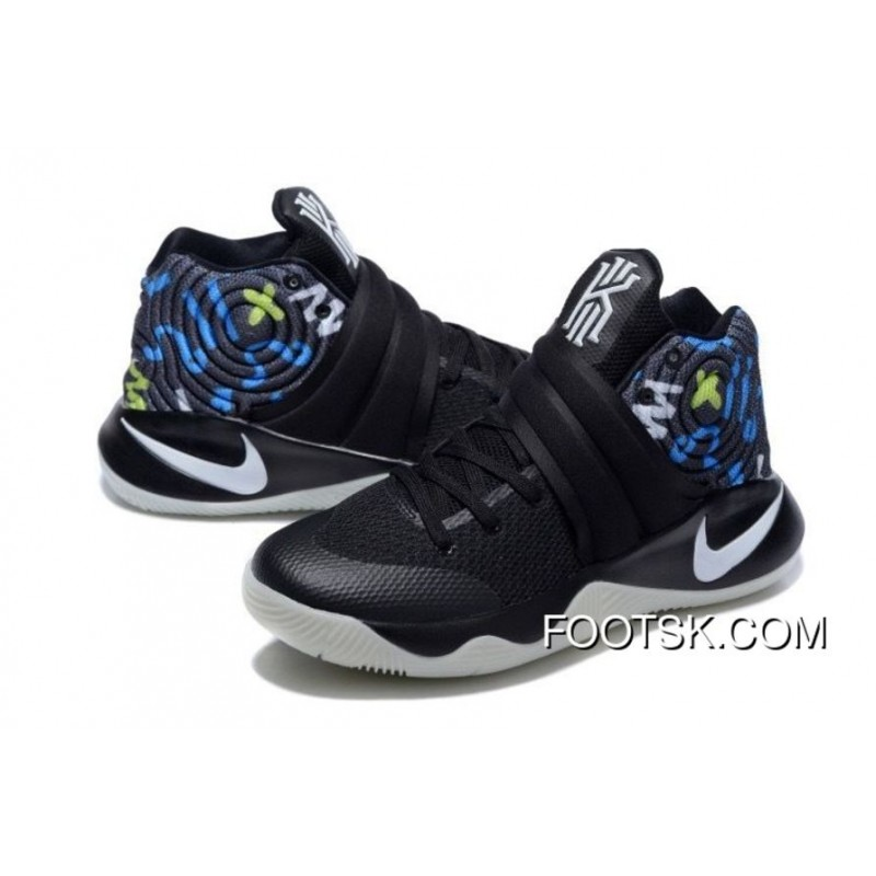 ... release date nike kyrie 2 black white blue mens basketball shoes free  shipping yhyzp c952b 9dd24 ... 98c75f9a9
