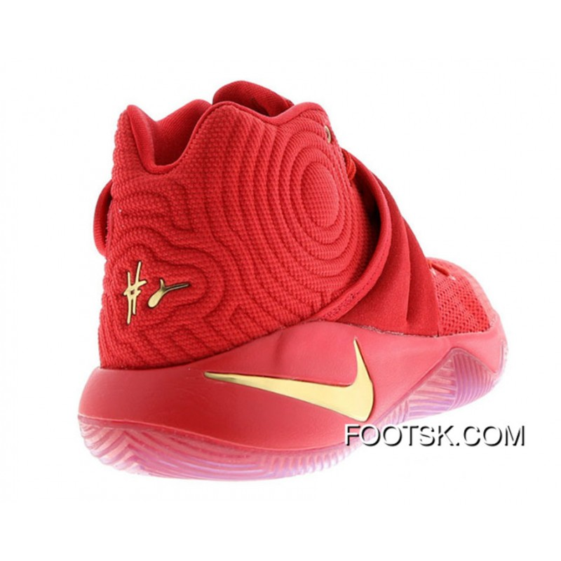 Nike Kyrie 2 'Gold Medal' University Red/Metallic Gold Cheap To Buy 7G2M7MX