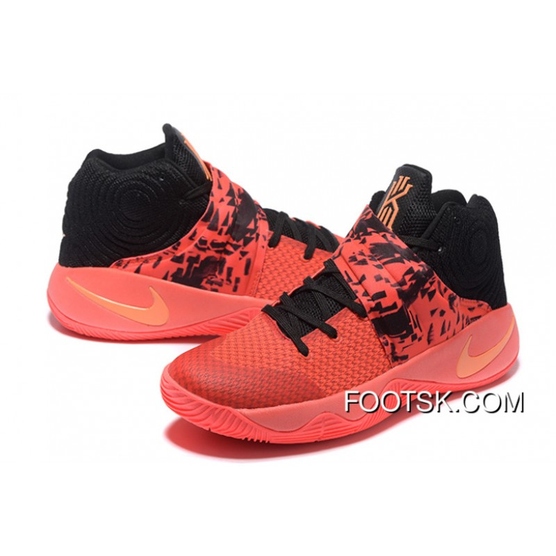 competitive price 4e0dd 01560 Nike Kyrie 2 Inferno Bright Crimson/Atomic Orange-Black Top Deals XEtdj7z