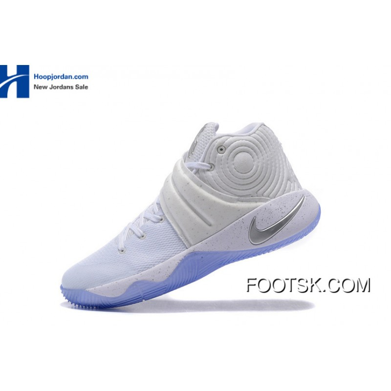 online store 85bd2 be80c Nike Kyrie 2 Speckle White/Metallic Silver-Tour Yellow For Sale NYTYn