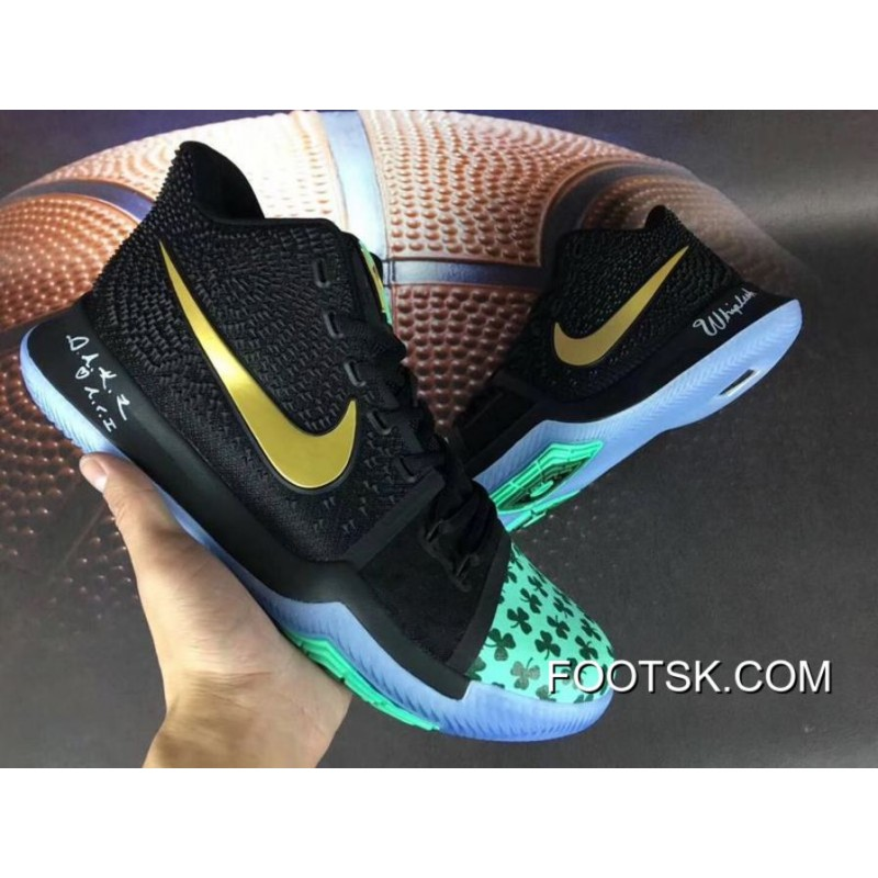 lowest price 64c4f 1d454 Nike Kyrie 3 Mens Shoes Celtics Free Shipping