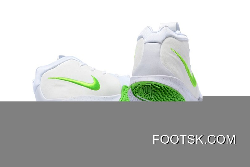 new concept bcb69 0449c Discount Mountain Dew X Nike Kyrie 4 K.A.R.E. Kit White Green