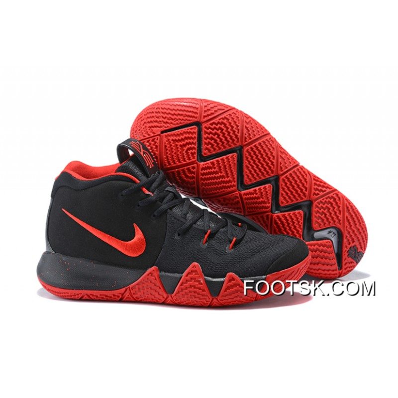 huge selection of 711b9 0122b Nike Kyrie 4 Black Red Latest