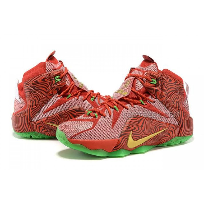 wholesale dealer 44528 d5136 LeBron 12 LeBrons Mix NIKEiD Sprite Original Basketball Shoes