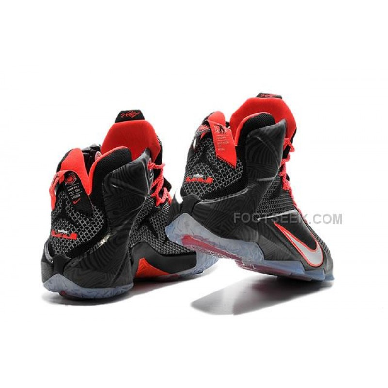 best website 33f50 b51df Lebron 12 Black Zebra Nike Zoom Lebron 12 Black Zebra Original Shoes