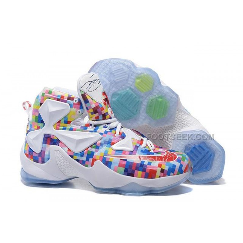 promo code 1fad1 fabf8 ... get lebron 13 colorful lebron james 2016 shoes mixing d8738 b11cb