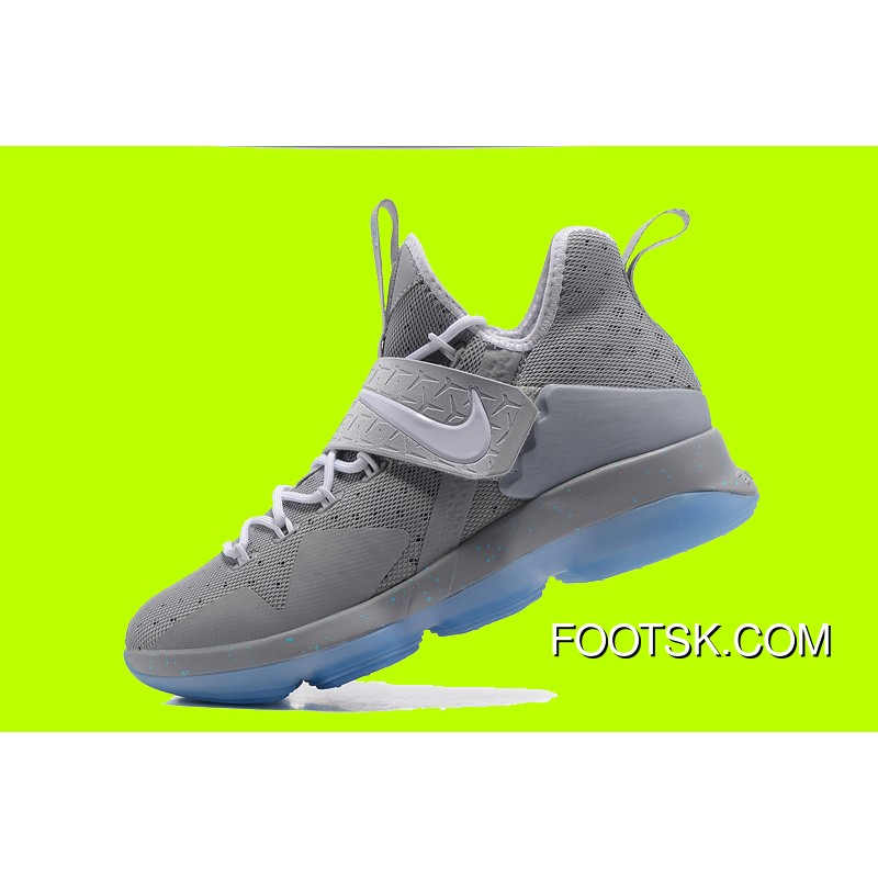 ae101787a72 Nike LeBron 14  MAG  Matte Silver White Glow New Release CxPZG ...