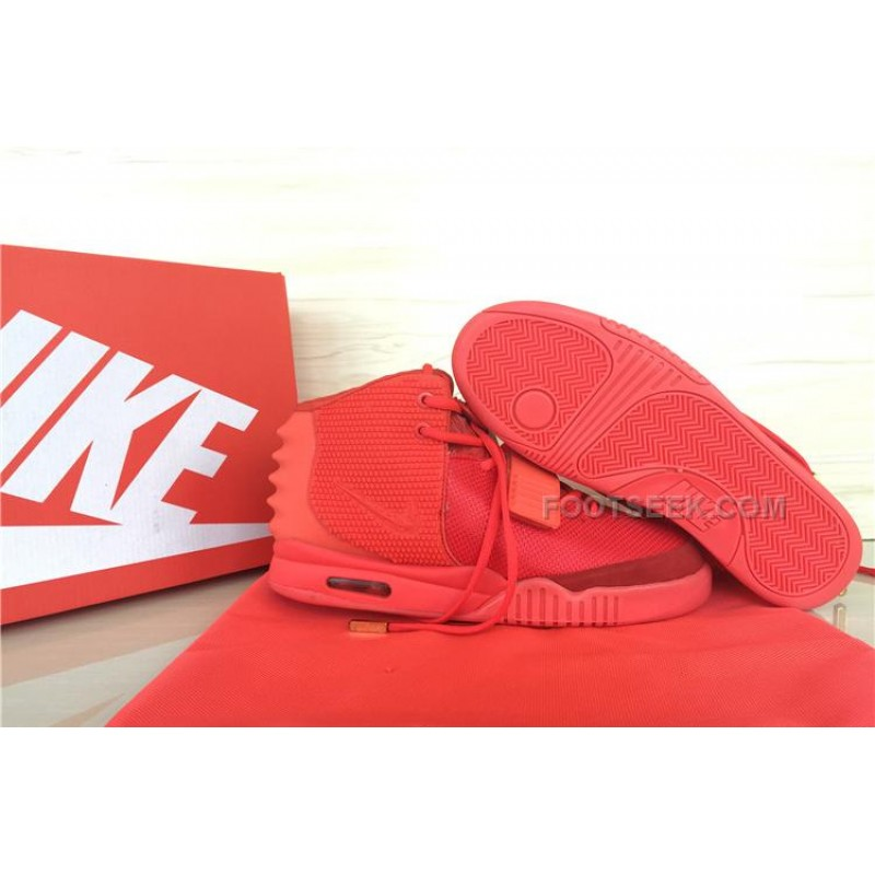 free shipping f9a04 34574 Nike Air Yeezy 2 Red October Men All Full Red Sale Cheap ...