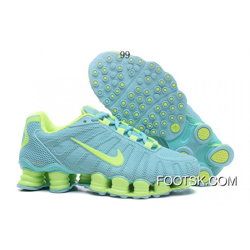 new arrival 3d44a d7040 ... canada nike shox tlx women shoes 2018 new mint new release e95dd 58cd4