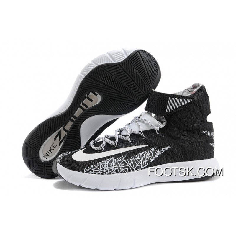 buy popular fc302 361ff ... coupon code for nike zoom hyperrev kyrie irving black white metallic  silver best 36df0 9d7cf ...