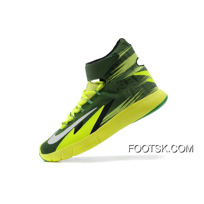 d012dcf75c29f New Release Nike Zoom Hyperrev KYRIE IRVING Black/Metallic Silver/Electric  Green