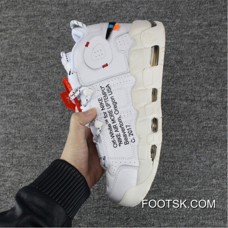 0adbf39b5cdf8f ... 2018 New Style Men Off White X Nike Air More Uptempo QS SKU 173657- ...