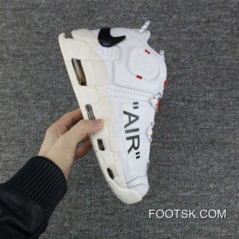 8dfab1ddc97613 2018 New Style Men Off White X Nike Air More Uptempo QS SKU 173657- ...